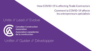 COVID-19 is affecting Trade Contractors