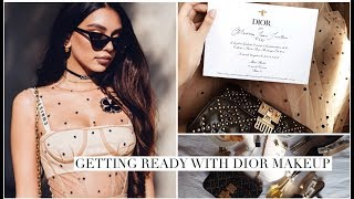 Getting Ready with Dior Makeup | Paris Fashion Week