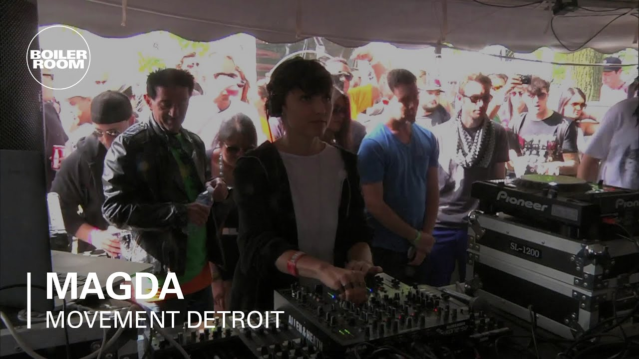Magda - Live @ Boiler Room x Movement 2013