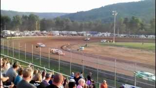 preview picture of video 'FASTRAK Late Models @ McKean County Fairgrounds'