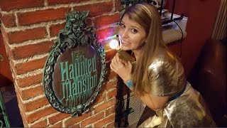 Halloween Decoration Ideas - Disneyland Haunted Mansion Theme Halloween Party