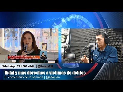 Vidal quiere ampliar derechos a las víctima de delitos