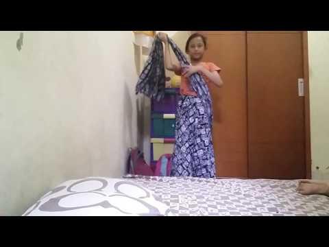 Video Cara memakai saree India