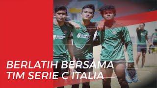 Bagus Kahfi dan Brylian Ikut dalam Latihan Klub Serie C Italia