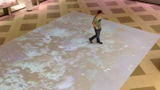 Interactive Floor Display in Abu Dhabi | LuminVision