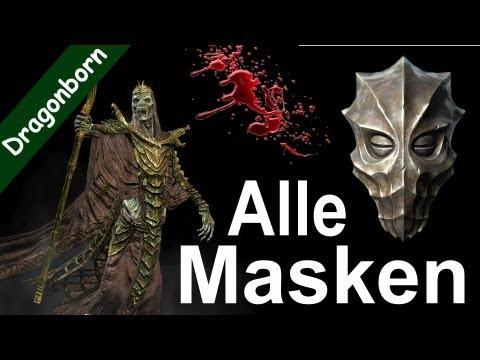 Die Maske für die Person vom Kaviar des Hechtes
