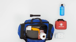Prepping A Go Bag With Supplies In Case Of An Emergency: It's Scary Simple | FEMA