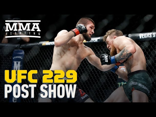 Ufc 229 Khabib Vs Mcgregor Post Fight Show Mma Fighting