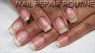 Updated Nail Patching Routine | DIY Nail Repair Tutorial