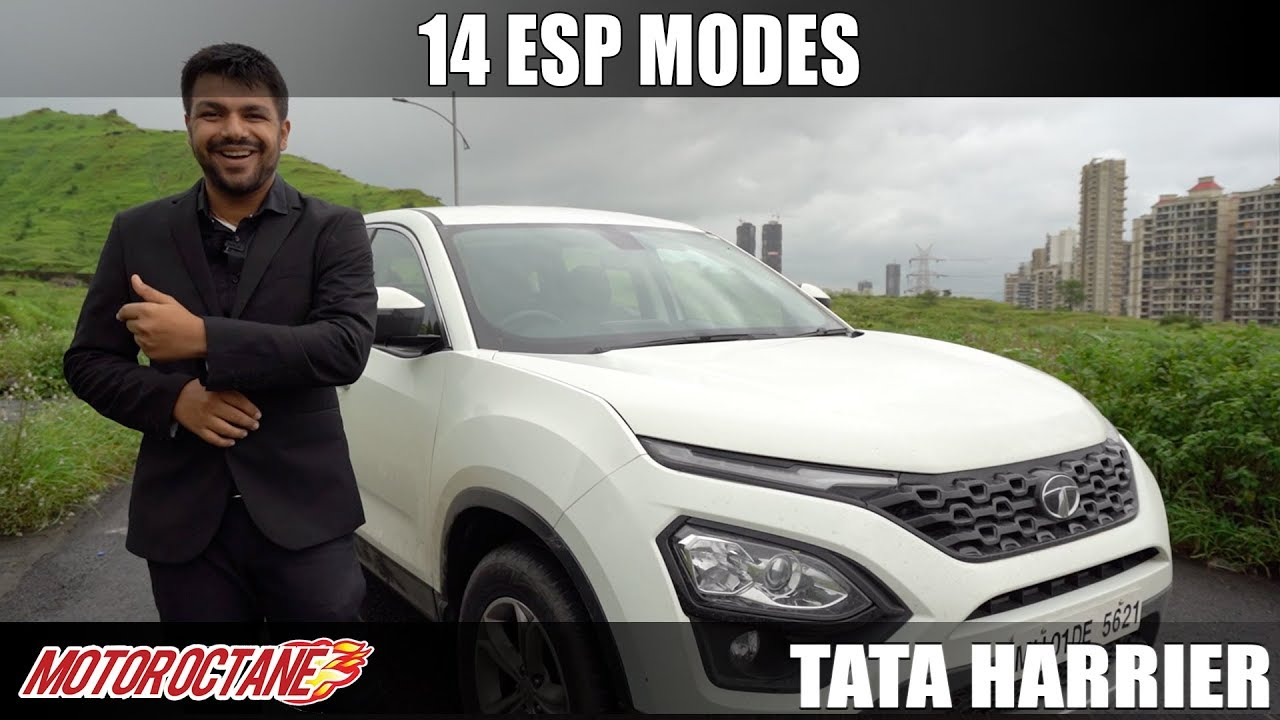 Motoroctane Youtube Video - Tata Harrier - 14 ESP Modes | EXCLUSIVE | MotorOctane