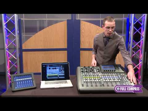 Behringer X32 Compact 40-Input 25-Bus Digital Mixer Overview   Full Compass