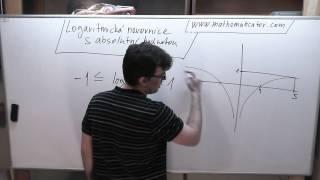 Logaritmická nerovnice s absolutní hodnotou 17. 4. 2014