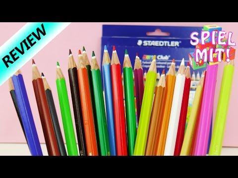 24 Buntstifte mit Minenschutz von Staedtler | viele Farben zum Topmodel ausmalen