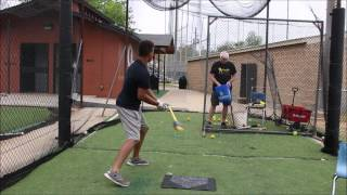 Koby with Rope Bat One Hand Drills Rev