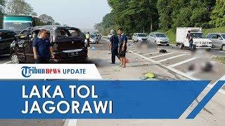 Kecelakaan Tunggal di Tol Jagorawi Akibat Pecah Ban, Tiga Korban Jiwa Meninggal