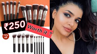 best affordable Amazon India makeup brushes | beauty on budget