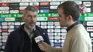 preview picture of video 'PRO VERCELLI vs BRESCIA: parla mister Cristiano SCAZZOLA'