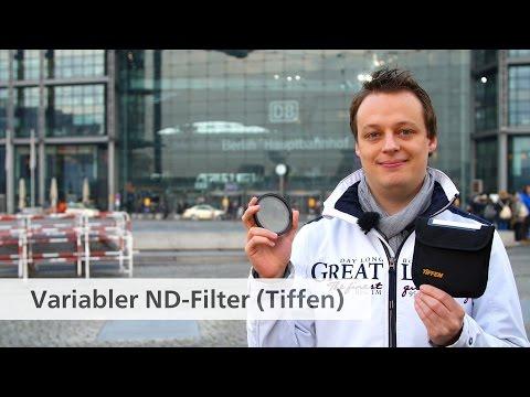Variabler ND-Filter (77 mm) von Tiffen im Test [Deutsch]