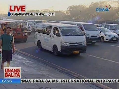 [GMA]  UB: Traffic watch as of 6:54 a.m. (February 19, 2019)