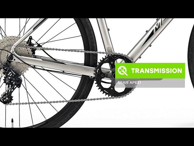 Видео Велосипед Merida Silex 300 silk titan (black)