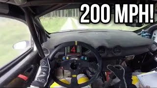 Insane 1st Person Rally Driving!