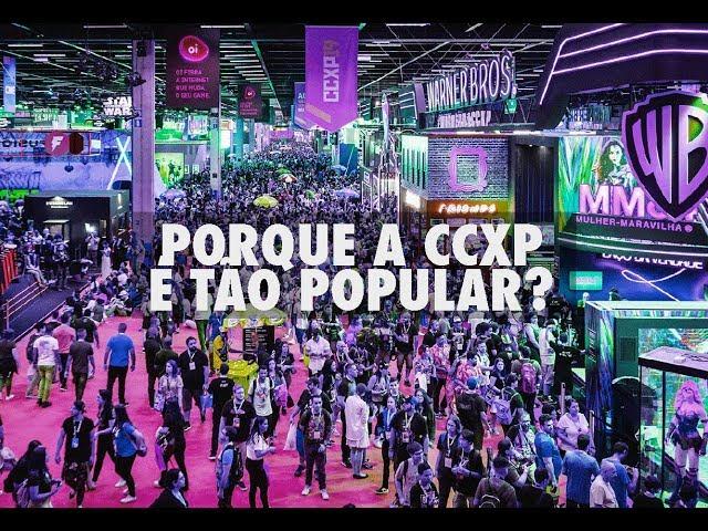 Por que a CCXP é tão popular? O que busca o público geek?