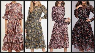 Gorgeous Adorable Floral Middi Dress Designs Ideas Collection Fir Women 2k20 - New Casual Midi Dress