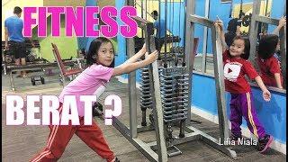 Lifia Niala ikutan Latihan Fitness Gym Workout Motivation for kids - VLOG @Lifiatubehd