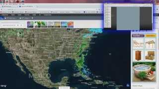 2/09/2015 -- 'HAARP ring' RADAR Pulse from NEXRAD causes storms over Georgia