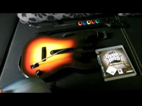 playstation 3 guitar hero world tour band kit