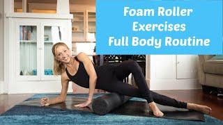 Foam Roller Exercises. Full Body Routine