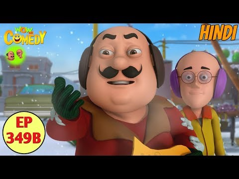Motu Patlu 2019   Cartoon in Hindi  Weather Out of Control  3D Animated Cartoon for Kids