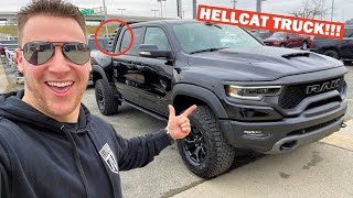 TAKING DELIVERY OF MY 702HP RAM TRX!!! *FIRST IN THE WORLD WITH THIS OPTION!*