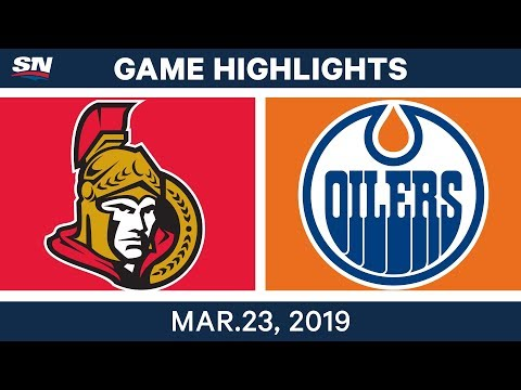 NHL Game Highlights | Senators vs. Oilers – March 23, 2019
