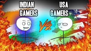American Gamers VS Indian Gamers