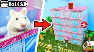 Hamster Hospital Maze 🏥 The Adventures of Granny Homura in the Hospital