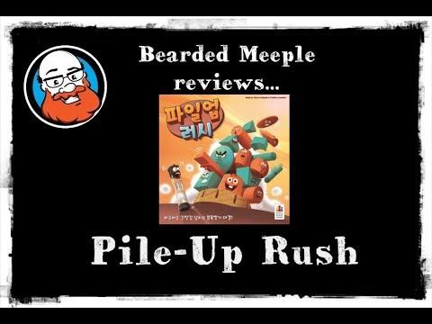 Bearded Meeple reviews: Pile-Up Rush