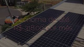 Sistema Fotovoltaico 2,65 kWp - F.C.S - Sete Lagoas - MG