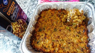 How To Doctor Up Boxed Stuffing   Thanksgiving Recipe Hack