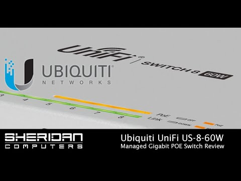 Ubiquiti UniFi US-8-60W 8 Port POE Switch