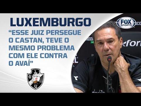EM JOGO POLÊMICO VASCO PERDE PARA O PALMEIRAS! Luxemburgo fala após a partida