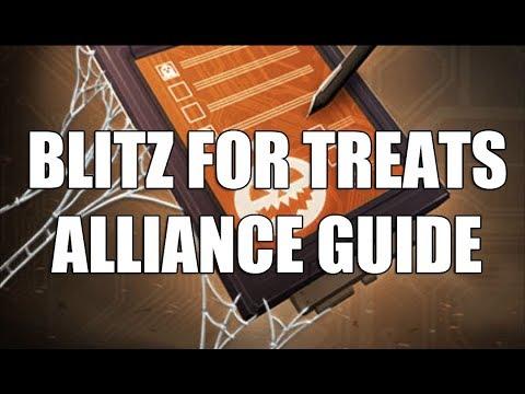 Blitz for Treatz Alliance Guide - Marvel Strike Force