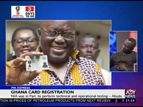 Ghana Card Registration - PM Express on Joy News (11-6-18)