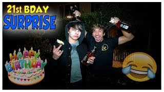 SURPRISING COLBY FOR HIS 21ST BIRTHDAY! | Kholo.pk