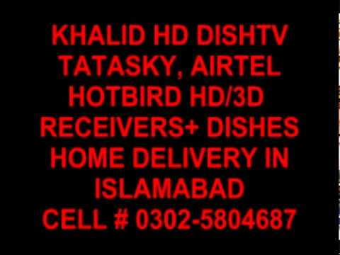 DISHTV HD, HOTBIRD, DISHES+HD RECEIVER 1000+ SATELLITE CHANNELS FOR