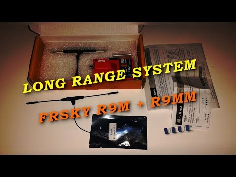 FRSKY R9M + R9MM Long Range System Blue