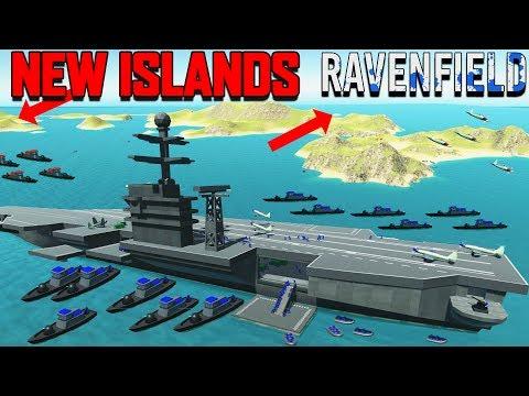 Ravenfield SECRET Mission! NEW Update - More Islands