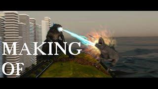 Godzilla 2014 vs. Godzilla 1998 Making Of
