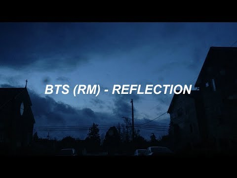 BTS '방탄소년단' RM 'REFLECTION' Easy Lyrics