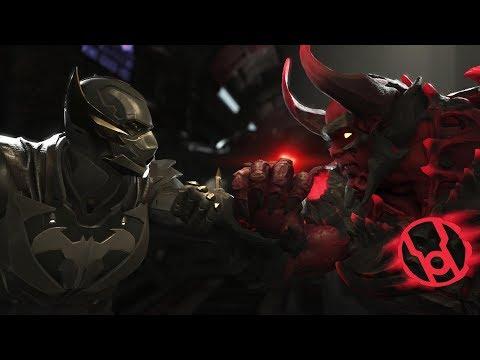 Injustice 2 :Batman Vs  Atrocitus - All Intro/Outros, Clash Dialogues, Super Moves